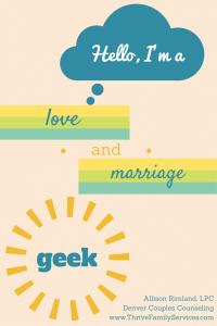 Denver Couples Counselor