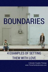 setting boundaries, Greenwood Village marriage therapist