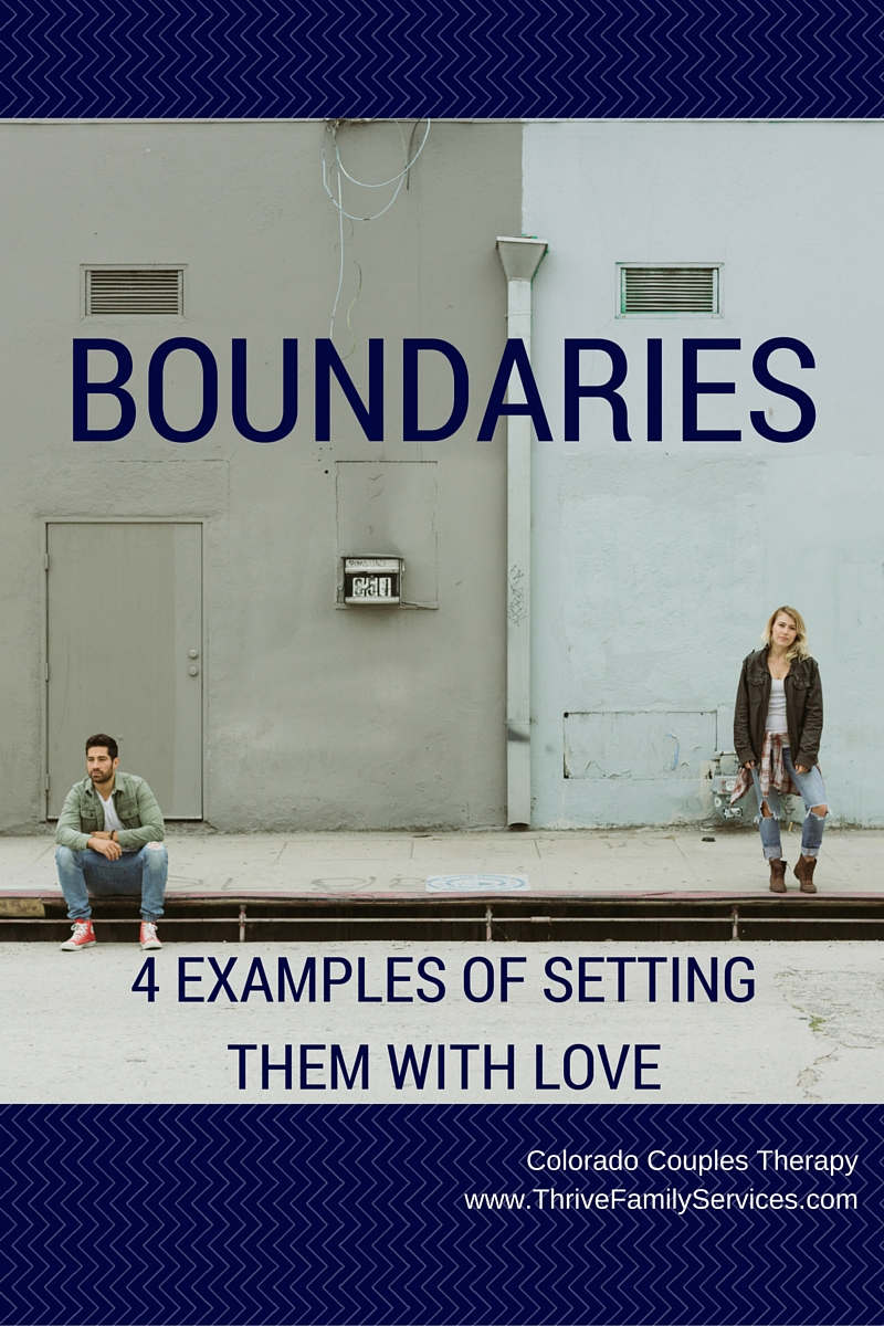 setting boundaries, Greenwood Village marriage therapist