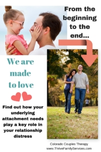 Know your attachment style, Littleton marriage counselor, Greenwood Village couples therapist