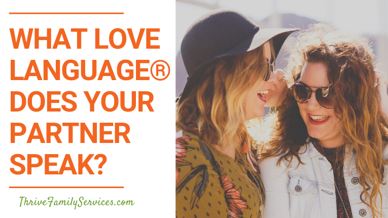 Love Language, Denver marriage counselor
