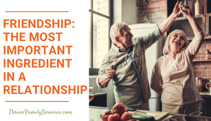Friendship: The Most Important Ingredient in a Relationship | Aurora Colorado Relationship Therapy