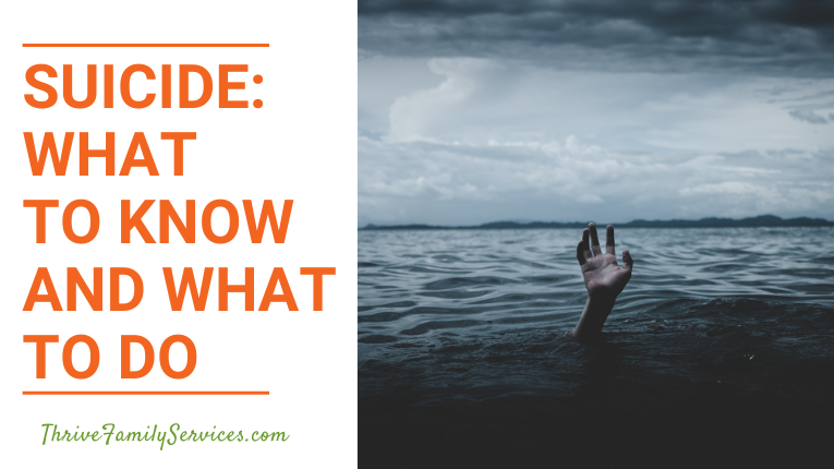 Suicide: What to Know and What to Do | Denver Marriage Counselor, Greenwood Village Counseling